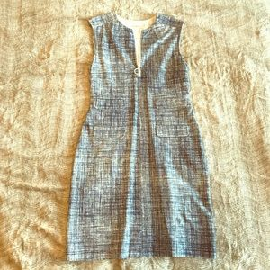 Tory Burch Dress - blue and white